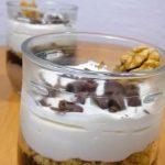 Keto Rum Coffee No-Bake Cheesecake In Jar - Low Carb Recipe